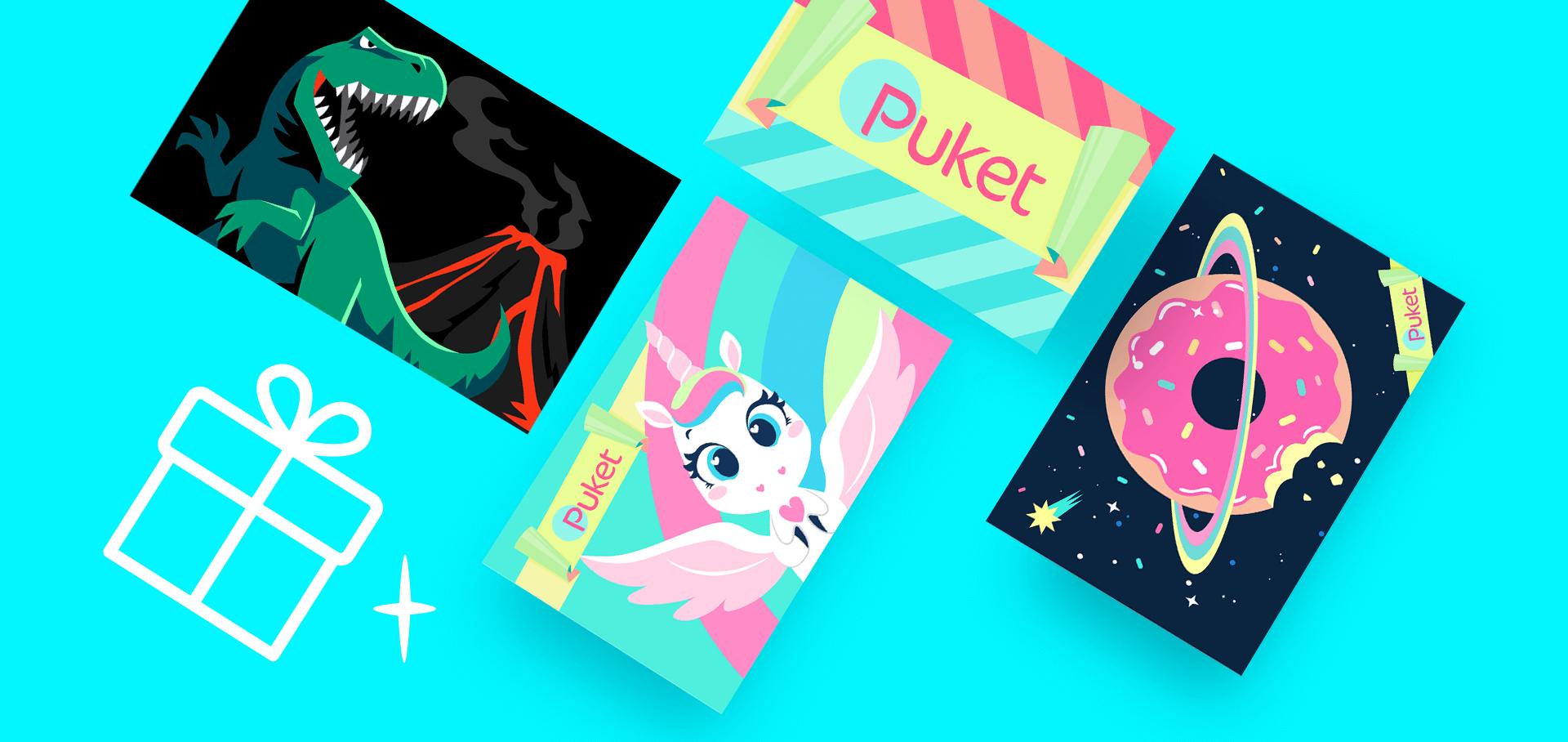 Cartão Presente Puket
