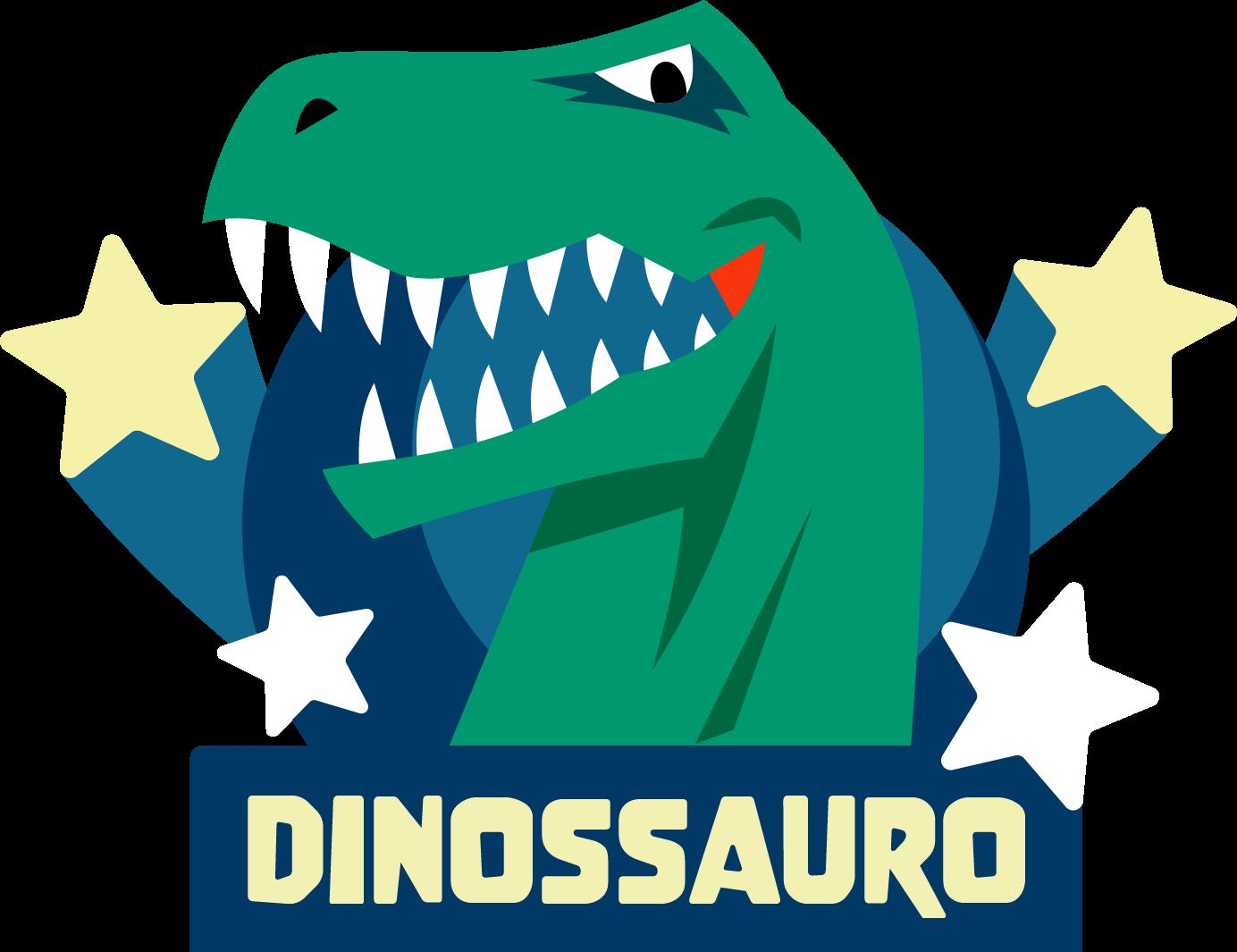 Personagem Dinossauro