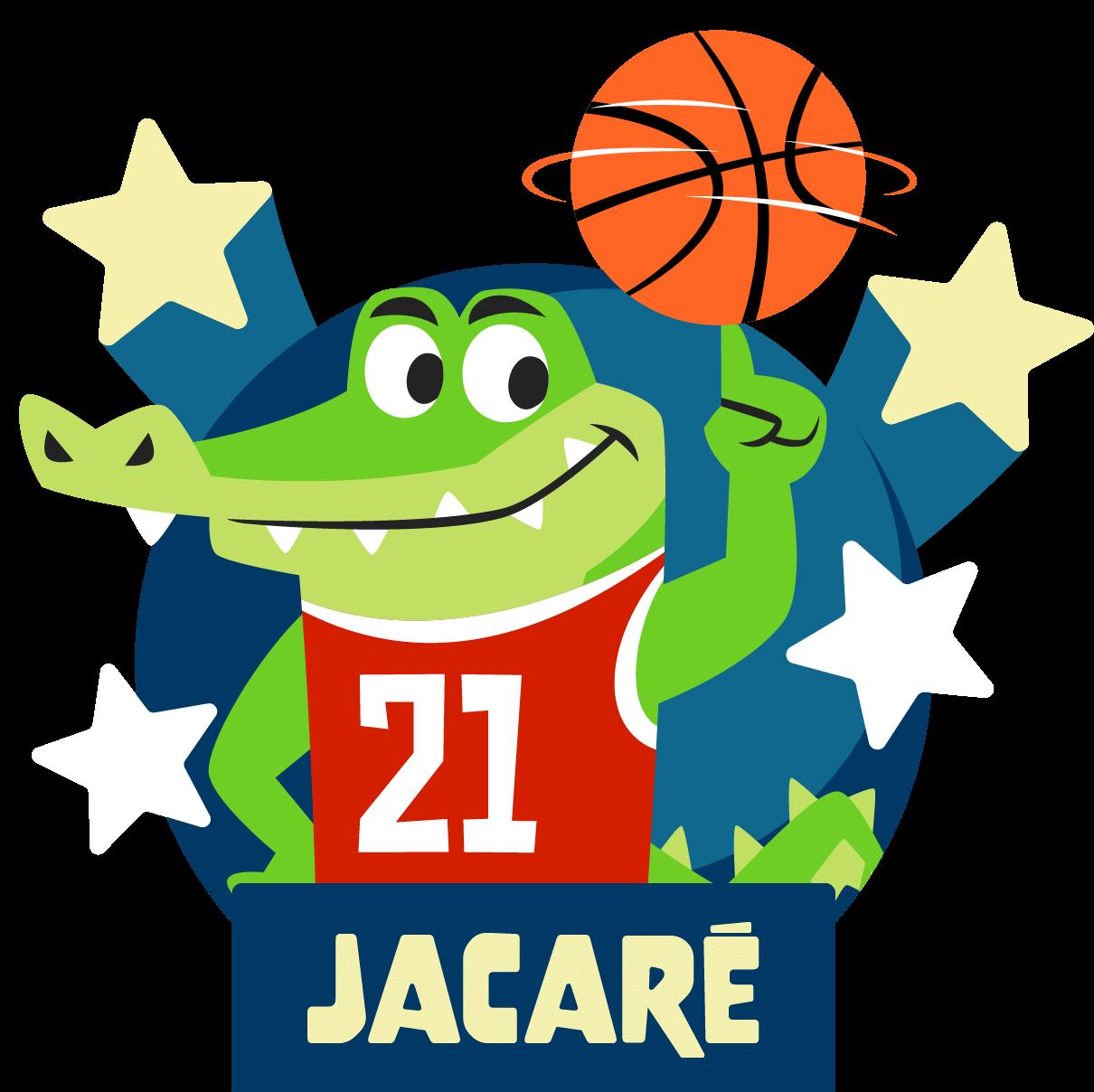 Personagem Jacaré