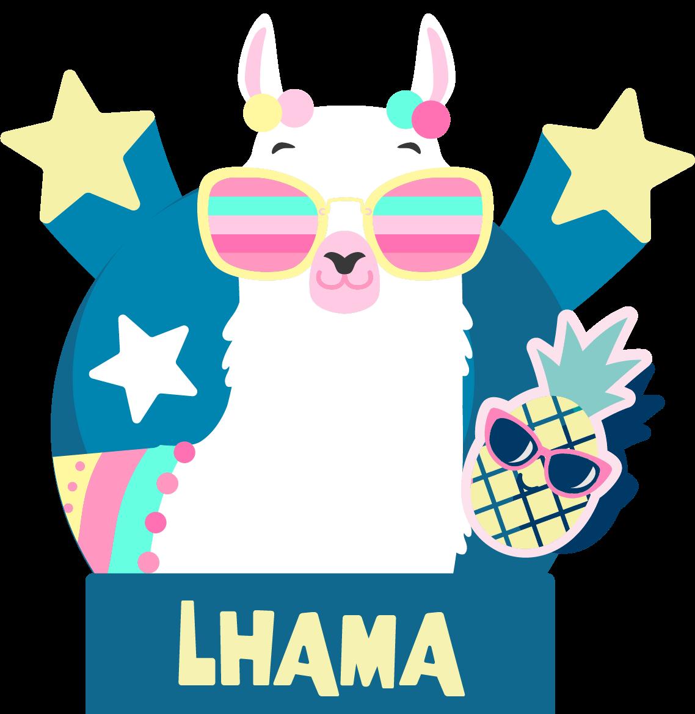 Personagem Lhama